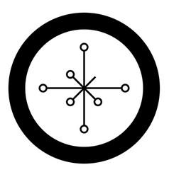 helm of awe aegishjalmur or egishjalmur vector image