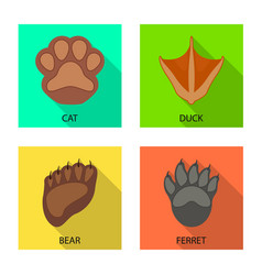 Isolated object step and walk icon set step vector