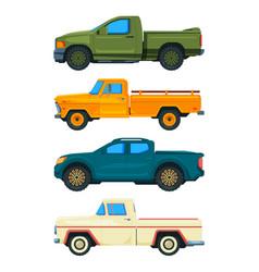Pickup truck transport of vector