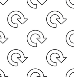 reload seamless pattern vector image