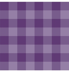 Seamless sweet violet checkered background vector image