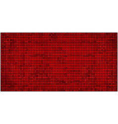 grunge red abstract mosaic background vector image vector image