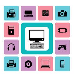 icon it vector image