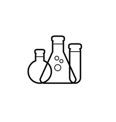 simple synthesis icon vector image vector image