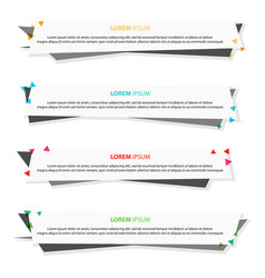 business banner for web design creative for vector image