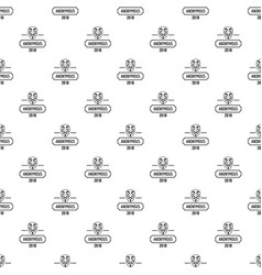 anonymous pattern seamless vector image