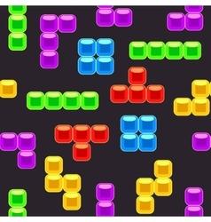 Brick seamless pattern vector