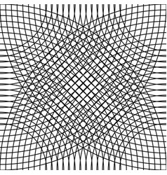 Cellular grid mesh pattern with circles from vector