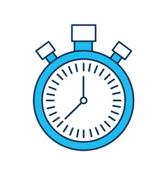Chronometer countdown speed timer object icon vector