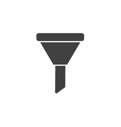 database server funnel icon element of vector image