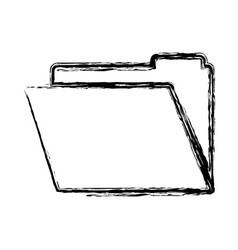 documents folder icon vector image