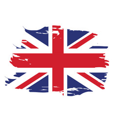 Isolated united kingdom flag vector