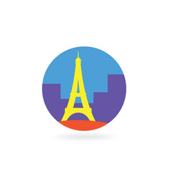 paris icon vector image