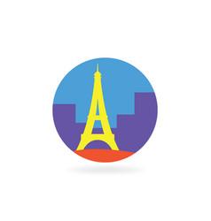 Paris icon vector