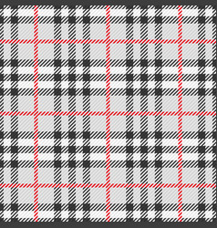 pattern scottish tartan vector image