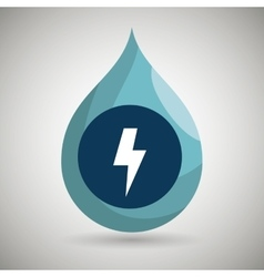symbol of energy isolated icon design vector image