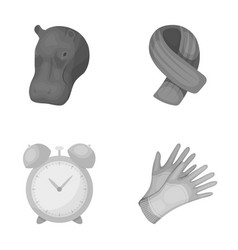 zoo training and other monochrome icon in cartoon vector image