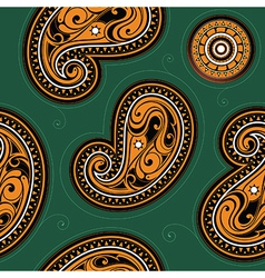 Seamless backdrop with ethnic ornament vector image vector image