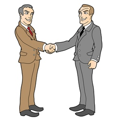 agreement 2 vector image vector image
