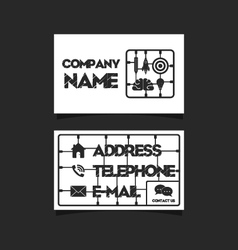 250business card 12 vector