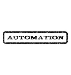 Automation watermark stamp vector
