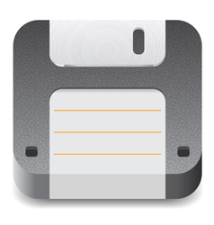 Icon for floppy disk vector