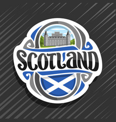 Logo for scotland vector