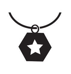 necklace icon synbol design vector image