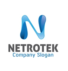 Netrotek Logo vector image