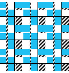 Plaid seamless pattern vector