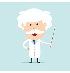 Professor and scientist vector image