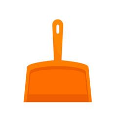 Scoop icon flat style vector