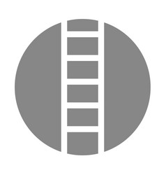 stairs tool isolated icon vector image