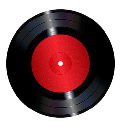 vinyl record royalty free vector image vectorstock rh vectorstock com vinyl record vector tutorial vinyl record player vector