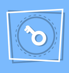 key icon security protection concept vector image