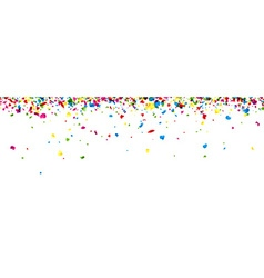 Banner with painted drops vector image vector image