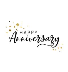 Anniversary celebration design vector