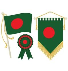 Bangladesh flags vector