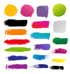 Blots for design vector