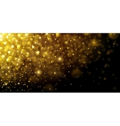 Christmas Gold Background vector image