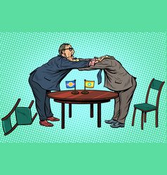 Headless pattern policy diplomacy and negotiations vector