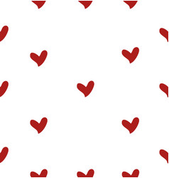 Mini heart seamless vector