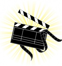 movie equipment vector image