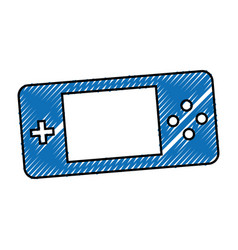Video game control icon vector