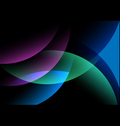 abstract light shape background vector image