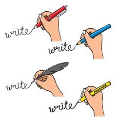 doodle handwriting vector image vector image
