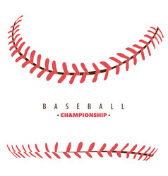 baseball competition poster vector image vector image