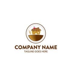 bakery logo-20 vector image vector image