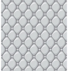 Seamless Pattern of a Leather Upholstery vector image