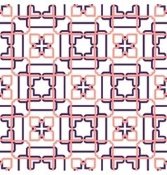 Abstract seamless geometric retro wallpaper vector
